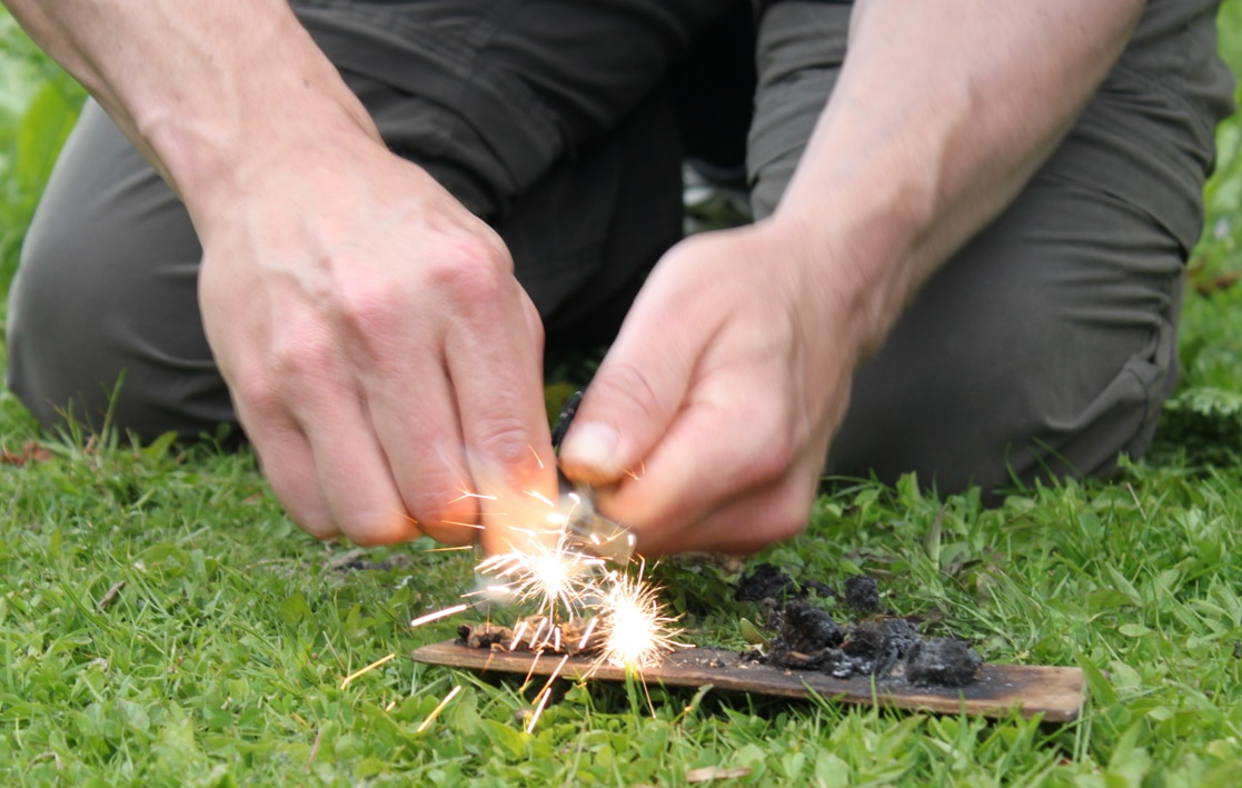 Learn to make fire, bushcraft