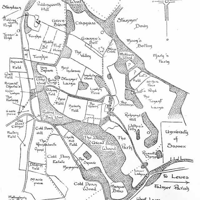 Stanmer Park Old Map